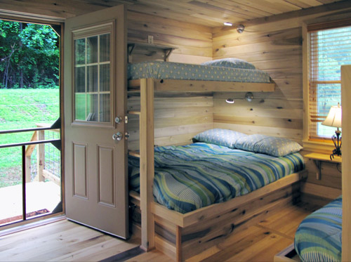 Beds and Bunkbeds.